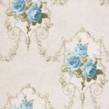 Tudor Rose Wallpaper DE41437 By SK Filson For Dixons Exclusive